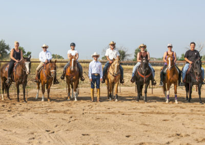 Clinic riders at CH Equine